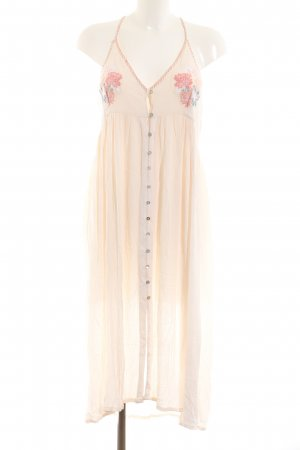 Topshop Midikleid creme Casual-Look