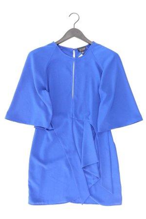 Topshop Midikleid Größe 38 blau aus Polyester