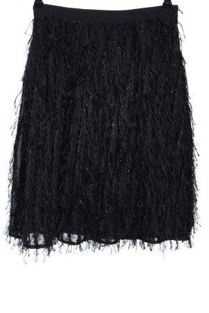 Topshop Midirock schwarz extravaganter Stil
