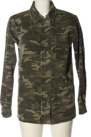 Topshop Militaryjacke khaki Camouflagemuster Casual-Look
