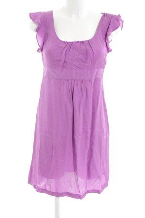 Topshop Minikleid lila Casual-Look