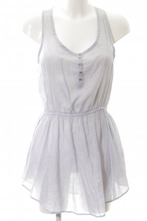 Topshop Minikleid blau-weiß Streifenmuster Casual-Look