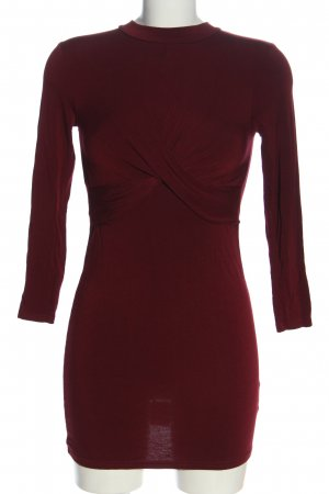 Topshop Minikleid rot Casual-Look