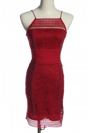 Topshop Minikleid rot Elegant