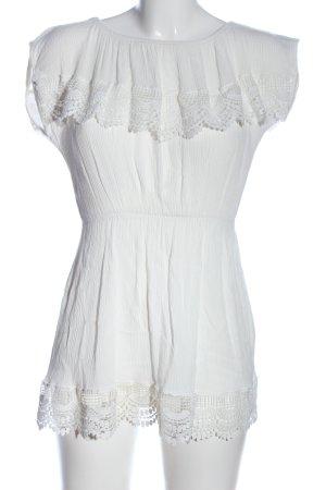 Topshop Minikleid weiß Casual-Look