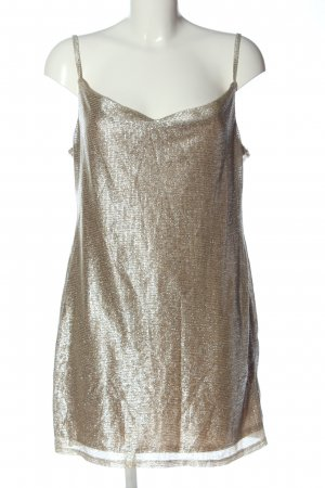 Topshop Minikleid goldfarben Casual-Look