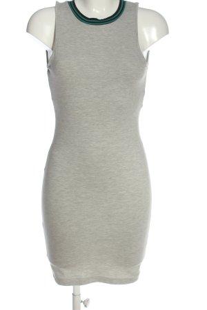 Topshop Mini Abito grigio chiaro puntinato stile casual