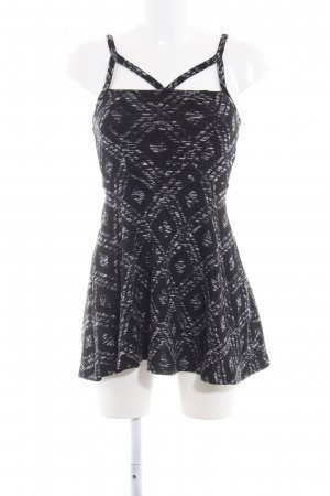 Topshop Minikleid grafisches Muster Party-Look