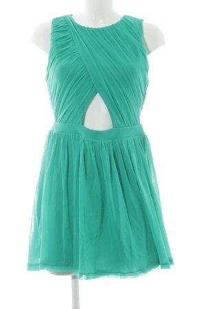 Topshop Minikleid grün Party-Look
