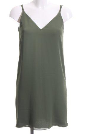 Topshop Minikleid khaki Casual-Look