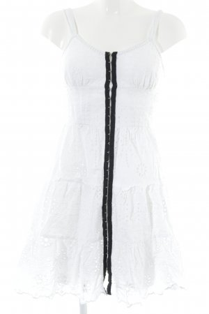 Topshop Minikleid weiß