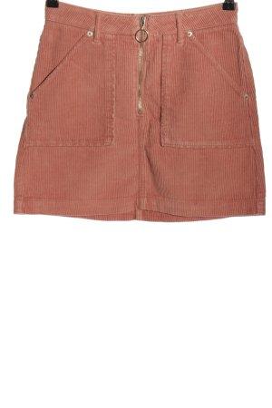 Topshop Minirock pink Casual-Look