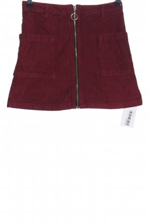 Topshop Miniskirt red casual look