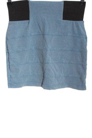 Topshop Minirock blau Casual-Look