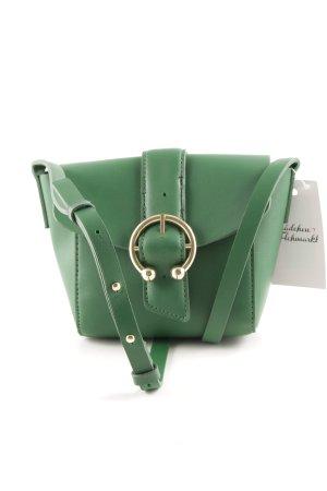 Topshop Minitasche grün Business-Look