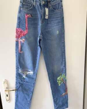 Topshop MOM - High Waisted Jeans - W26/L36