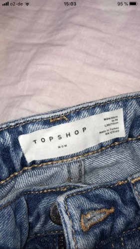 Topshop mom jeans 24/61 , 34