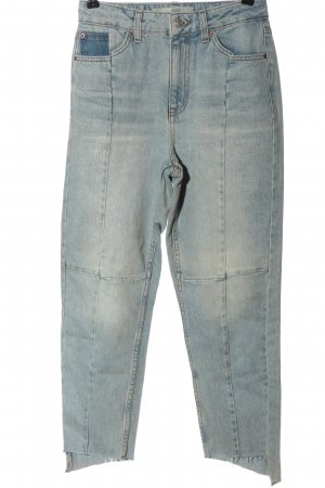 Topshop Mom-Jeans blau Casual-Look