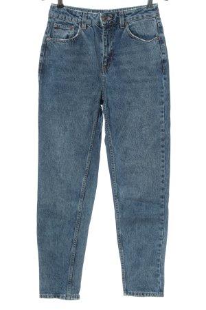 Topshop Mom-Jeans blau Casual-Look