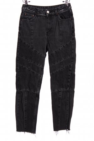 Topshop Moto Five-Pocket Trousers black casual look