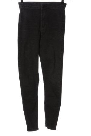 Topshop Moto High Waist Jeans schwarz Elegant