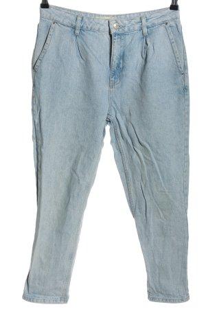 Topshop Moto Wortel jeans blauw casual uitstraling