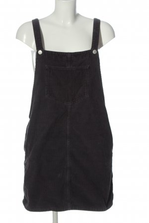 Topshop Moto Pinafore Overall Skirt black casual look