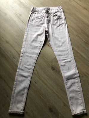 TOPSHOP MOTO Skinny Jeans hellrosa Größe W26