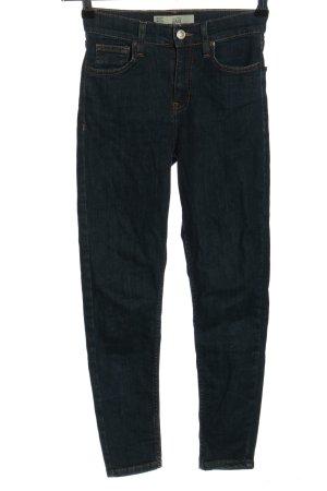 Topshop Moto Stretch Jeans blau Casual-Look