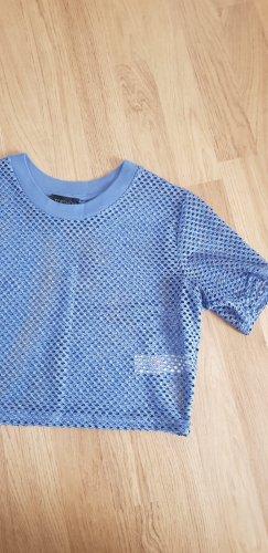 Topshop Netzt Shirt Cropped