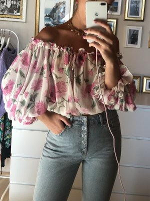 Topshop Off-Shoulder Bluse