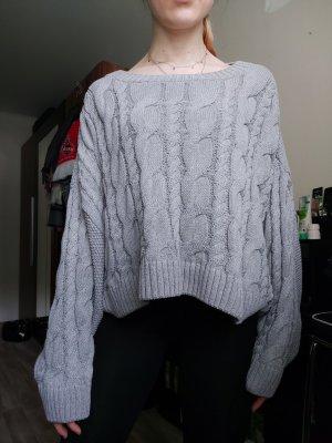 Topshop Oversize Pullover kürzer