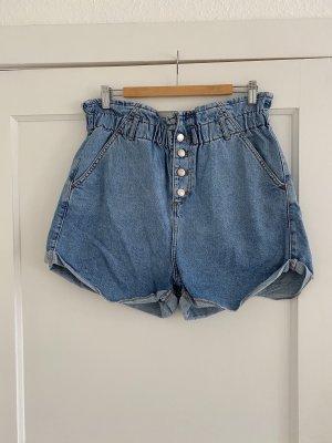 Topshop Paperbag Jeansshorts
