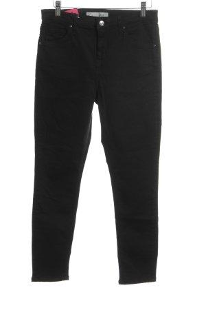 Topshop Petite High Waist Jeans schwarz Casual-Look