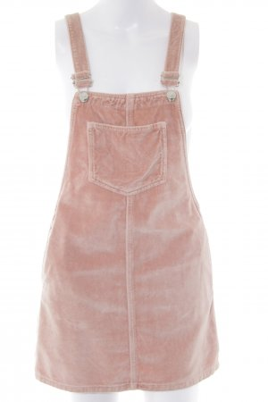 Topshop Petite Pinafore Overall Skirt pink casual look