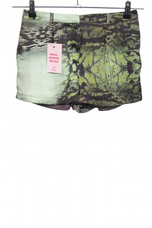 Topshop Petite Shorts abstraktes Muster Casual-Look