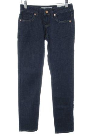 Topshop Petite Skinny Jeans neonblau Jeans-Optik