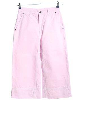 Topshop Petite Jeans a 7/8 rosa stile casual