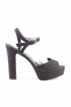 Topshop Plateau-Pumps schwarz Casual-Look