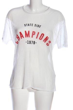 Topshop Print-Shirt Motivdruck Casual-Look