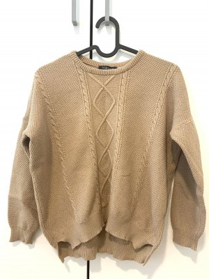 Topshop Crewneck Sweater beige