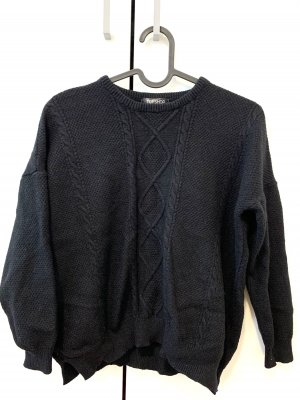 Topshop Crewneck Sweater black