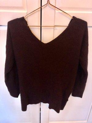 Topshop Pullover burgunder