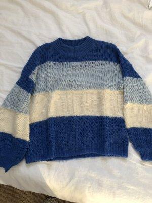 Topshop Pull en laine multicolore
