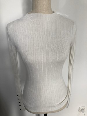 Topshop Jersey de lana blanco