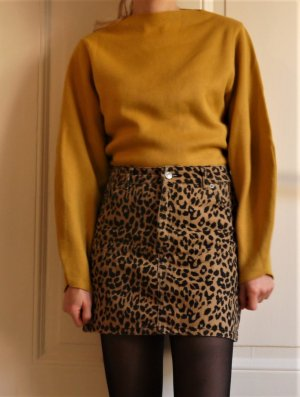 Topshop Pullover Senfgelb