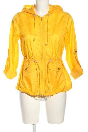 Topshop Impermeabile giallo pallido stile casual