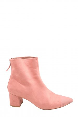 Topshop Reißverschluss-Stiefeletten pink Casual-Look