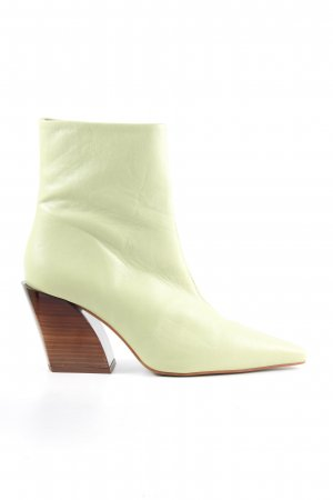 Topshop Reißverschluss-Stiefeletten grün Casual-Look
