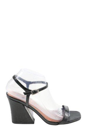 Topshop Riemchen-Sandaletten schwarz Casual-Look